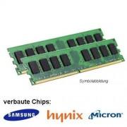 Samsung 4 Go (2 x 2 Go) DDR2 800 MHz (PC2 6400U) Lo DIMM pour PC Ordinateur de bureau RAM Memory Samsung Hynix Micron