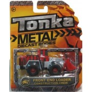 Tonka Metal Diecast Front End Loader Construction Crew