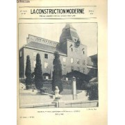 La Construction Moderne - 45e Volume (1929-1930) - Fascicule N°39 - Stockholm - Ecole Polytechnique, Exposition Suedoise Des Arts Decoratifs Industriels, Contructions Modernes À Stockholm ...