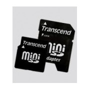 Memoria Flash Transcend, 2GB MiniSD con Adaptador
