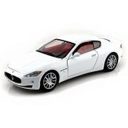 Maserati Gran Turismo, White - Showcasts 73361 - 1/24 Scale Diecast Model Toy Car