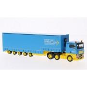 MAN TGX XL, Siefert transportes, Transporte de volumen , Modelo de Auto, modello completo, Herpa 1:87