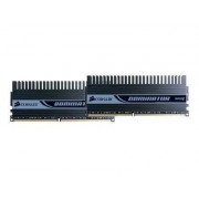 Corsair XMS2 Dominator Xtreme Performance TwinX Matched - DDR2 - 2 Go : 2 x 1 Go - DIMM 240 broches - 1066 MHz / PC2-8500 - CL5 - 2.2 V - mémoire sans tampon - NON ECC