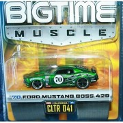 Jada Big Time Muscle Candy Green 1970 Ford Mustang Boss 429 1:64 scale Die Cast Car