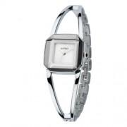 Kimio ezüst színű üreges karkötős óra