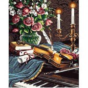 Diy oil painting paint by number kit- Sound of Music 16*20 inch.