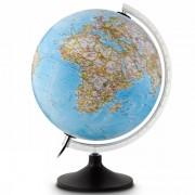 Wereldbol - globe 11 Carbon Blauw   National Geographic