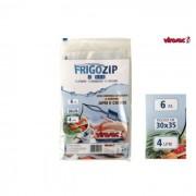 Virosac sacchetti frigozip 6 pezzi 30 x 35 cm