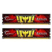 Memorie G.Skill Aegis 16GB (2x8GB) DDR3 1333MHz PC3-10600 CL9 1.35V, Dual Channel Kit, F3-1333C9D-16GISL