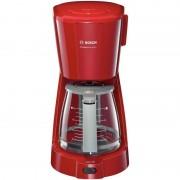 Кафемашина шварц Bosch TKA3A034, 1100 W, 1.25 л, Червена