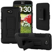 G Pro Lite Case CellJoy [Future Armor] LG Optimus G Pro Lite D686/D680/D682 (WILL NOT FIT REGULAR LG G PRO) Case Hybrid Ultra Fit Dual Protection [Heavy Duty] Kickstand Holster **Shock-proof** [Belt Clip Holster Combo] - Rugged Case for LG G Pro Lite (St