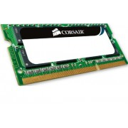 Corsair VS1GSDS667D2 Modulo di Memoria da 1 GB, DDR2, PC667, CL5, SODIMM, Nero