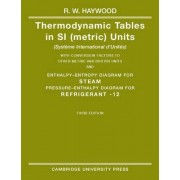 Thermodynamic Tables in SI (Metric) Units by R.W. Haywood