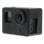 Zwart siliconen hoesje voor de GoPro camera