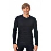 Trigema Herren Langarm Funktions-Shirt Größe: XXL Material: Innen: 66 % Baumwolle, 22 % PES, 12 % Silberfaser Farbe: schwarz