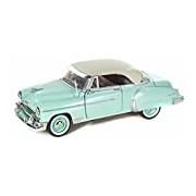 "Motormax GOTZMM73268LG 1:24 Scale Bright Green ""1950 Chevrolet Bel Air"" Die Cast Model Car"
