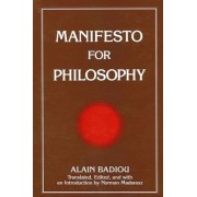 Manifesto for Philosophy by Norman Madarasz