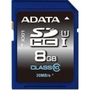 Card A-DATA Premier SDHC UHS-I U1 8GB (Class 10)