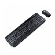 Kit Teclado Microsoft Multimídia e Mouse Óptico Wired Desktop 600 APB-00005