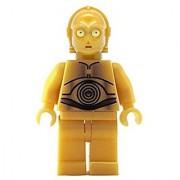 LEGO Star Wars Minifigure - C-3PO C3PO Droid Classic (Yellow Eyes Version)