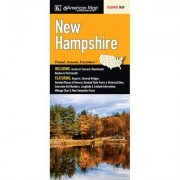 Universal Map New Hampshire State Fold Map (Set of 2) 14280