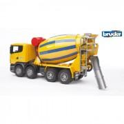 Bruder camion betoniera scania r-series 3554