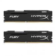 Kingston Technology HyperX FURY - Barrettes de Mémoire DDR4 16 Go (2x8 Go) (HX421C14FBK2/16) - Noir