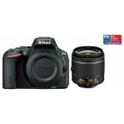 Nikon D5500 kit (AF-P 18-55mm VR) (negru)