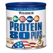 Weider Protein 80 Plus Cappuccino 750g