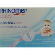 RHINOMER BABY NARHINEL CONFORT 20 RECAMBIOS BLANDOS DESECHABLES