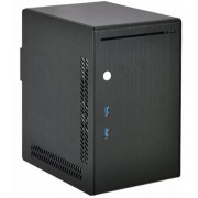 Lian-Li PC-Q20B Mini-ITX Cube - schwarz