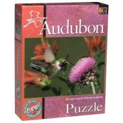 Audubon 500 Piece Collectible Puzzle - Broad-tailed Hummingbird by Palm Beach Toys and Games