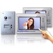 Anykam DT603D+ 2x DT692SD Video Türsprechanlage Klingel Gegensprechanlage 2Familienhaus