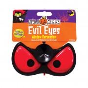 Decorazione per Finestre - Occhi da Diavolo Luminosi - per Halloween
