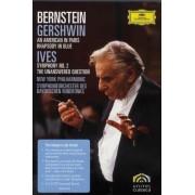 Leonard Bernstein - Gershwin & Ives (0044007345139) (1 DVD)