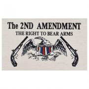 Home & More Right to Bear Arms Doormat 150961827