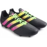 Adidas ACE 16.3 FG/AG Men Football Shoes(Black)