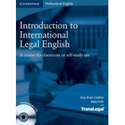 Introduction to International Legal English Student's Book with Audio CDs (2) by Amy Krois-Lindner