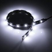Biely vodotesný LED pásik 30 cm 15 diód