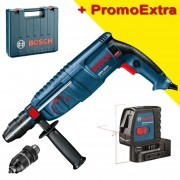 BOSCH GBH 2600 Ciocan rotopercutor SDS-plus 720 W, 2.5 J + GLL 2-15 Nivela laser cu linii (15 m)