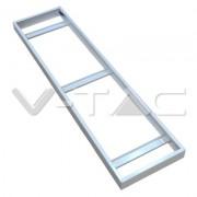 Caixa para montagem exterior para painel LED 1200x300mm