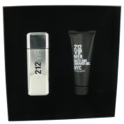 Carolina Herrera 212 VIP Eau De Toilette Spray 3.4 oz / 100 mL + Shower Gel 3.4 oz / 100 mL Gift Set Fragrances 499076