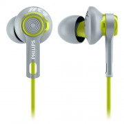Philips SHQ2300LF/27 ActionFit Sports Earbuds Headphones, Lime