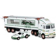 Hess 1997 Toy Truck with 2 Racers by Hess