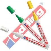 Edding 750 - Rotulador (& Creative brillo Marcador 3 Paquete ahorro, 10 colores & surtidos para elegir., color Sortiert Zusatzfarben 1