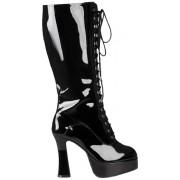 Boland 46365 - Kinky Boots, stivali in vernice nera, taglia 41