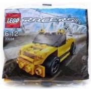 ЛЕГО СЪСТЕЗАТЕЛИ Жълт Авариен Камион, Lego Racers Tow Truck, 30034