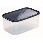 Heidrun műanyag téglalap alakú ételtároló edény 4,4literes - 401712