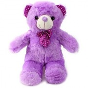 Tickles Purple Standing Teddy Stuffed Soft Plush Toy Teddy Bear 41 cm T768