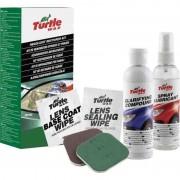 Kit restaurare faruri din plastic Turtle Wax, 240 ml